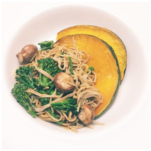 Wellness Temple - Roasted Honey Pumpkin Salad