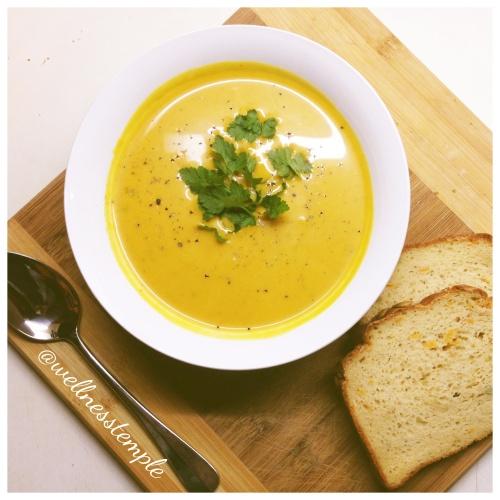Wellness Temple - Pumpkin Soup