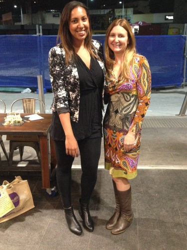 with Aboutlife's Founder and Director Jodie Steward