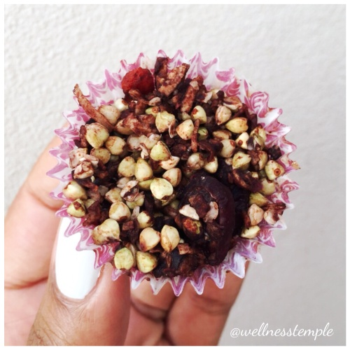 Wellness Temple - Superfood Berry Chocolate Crackles