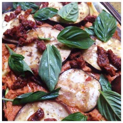 Red Lentil and Capsicum Veggie Lasagne
